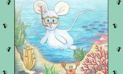 The 2nd book in the series 'The Travel Adventures of PJ Mouse'. Join cute, slightly featherbrained, PJ Mouse, as he overcomes his fears of the unknown to discover the wonders of snorkelling at the Great Barrier Reef; chats with a Loggerhead turtle in the