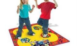 Large wipe clean mat includes wiggly music and sound effects with the tap of a foot Dance and sing to 4 wiggles songs Touch sensitive pads will keep your feet moving and grooving Your Toddler will love dancing with the Wiggles For ages 2+ years It's time