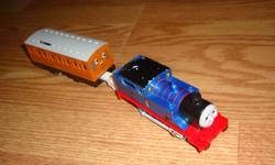 I have a Thomas and Friends Electric Train for sale! This is in excellent condition and would look great in your child's room or to give as a gift. Comes from a non-smoking household. Do not miss out on this excellent opportunity to get this for a
