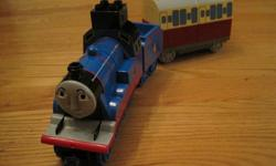 Have fun building the Gordon train in Duplo blocks! Outstanding condition from non-smoking home.