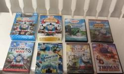 This Thomas the Train DVD lot includes... * Calling all Engines with Diesel wooden train bonus pack (brand new in plastic) * Sodor Friends Holiday Collection- 3 DVD Gift Set including Thomas' Snowy Surprise, Races, Rescues and Runaways & Thomas and the