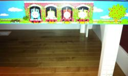 Excellent condition, table and top! Has 3d Thomas on both sides! This ad was posted with the Kijiji Classifieds app.