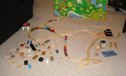 Thomas Toy train set includes 16 trains, multiple tracks and many accessories to enjoy the set. Great Christmas gift for kids. I have enjoyed many many hours playing with it but have outgrown it. The price is $300 or best offer. If interested please