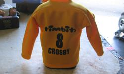 """TIM HORTONS TIMBITS JERSEY #8 COSBY piggy bank. I have 2 at $10.00 each. In very good condition Its a house number so texting will not work. """"""""DO NOT"""""""" CALL BEFORE 8 am. OR AFTER 9:00 pm. CASH ONLY. PICKUP ONLY VIEW MAP for general location. View poster's"""