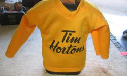 "Tim Hortons Timbits Jersey #8 Cosby piggy bank. I have 2 at $5.00 each. In very good condition. ITS A HOUSE NUMBER SO DO NOT TEXT. """"DO NOT"""" CALL BEFORE 8 am. OR AFTER 9:00 pm. CASH ONLY. PICKUP ONLY VIEW MAP for general location. View poster's list for"