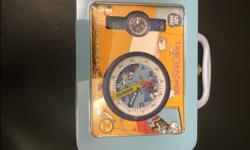 Teaches children to tell time. In like new condition.