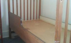 in great shape just needs a crib mattress 60 obo