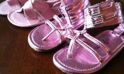 Like New / Sandals are both size 3 $5 for both pairs Shoes are both size 4 $5 for both Please see other items