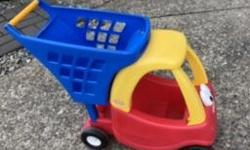 Toy grocery cart that?s a car. Posted with Used.ca app