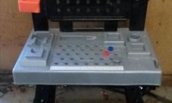 Black and Decker tool bench as pictured. Price is firm. Please text