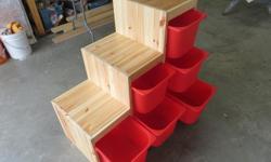 Ikea Kallax toy storage unit