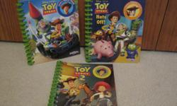 set of 3 newer Toy story books. paid $15 plus taxes. asking $7