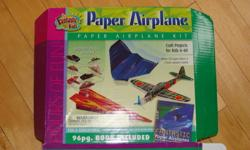 De-cluttering, reducing, recycling.....call it what you want. I'm going thru my kids closets before Christmas. This is what I've found so far.....   Paper airplane kits - $5 each or $8 for both   B-Daman - Tub of parts, marbles, etc. Some are assembled,
