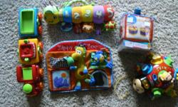I have various toys for sale, all in excellent condition. My daughter has grown out of them now. Please email me for pricing if you are interested.