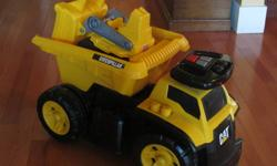 Toys for sale...all in new condition.  Get ready for Christmas and spend less!   Ride on truck with mini tractor- $20 ($55 new) Fisher Price activity- $20 ($49 new) Slam dunk- $12 ($20 new) Jack in the box (bear)-$20  ($45 new) Vtech Alphabet