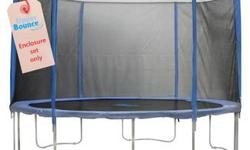 I bought these and they don't fit my trampoline. They are brand new and never used. They are all made to fit a 14ft round trampoline Upper Buonce 4 poles Upper Bounce safety net If bought together the price is 160