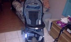 2 years old. Excellent condition. Infant Car seat expires in 2014. Never been in an accident, non smoking house. Car seat base as well