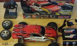 For sale TRAXXAS Rustler R/C Car great condition. Comes with stock battery charger, Onyx after market battery charger, 3 batteries, assorted tools and parts. Call 621-0493 or text 9026290826.