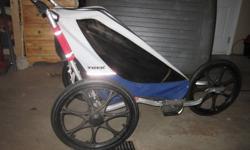 Trek jogging stroller/bike trailor exc condition