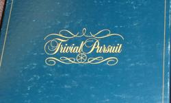 We are cleaning out the basement!!!!! Please look at my other listings for great Retro Vintage items.... keep checking back as we are doing listings over the next few days. This listing is for the Genius Edition of Trivial Pursuit. The game is like new, I