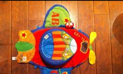Rotating airplane tummytime mat with multi sensory attachments , excellent used condition, smoke free pet free home This ad was posted with the Kijiji Classifieds app.