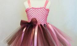 Every Little Girl need a tutu! ***SALE*** 15% off any custom order involving a tutu skirt or dress until Dec 20th. Any order made by Dec 20th will be ready for pickup by Dec 23rd. !!! TuTu skirts available in apron tie and elastic waist. Convertible tutu