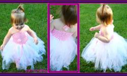 Don't know what to get the special little princess in your life for Christmas?   Check out   http://www.craftiecreationz.com for all items!!   Christmas specials Small tutu only $8.00 Large tutu only only $12.00  Tutu Dresses only $15.00!! Headband/flower