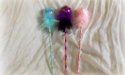I'm making custom ordered Tutu Wands and accessories! These wands are perfect for girls big and small. They are good for birthdays, holidays, bachelorette parties, weddings, and much more. * The balls on the wands are NOT glass, they are plastic! * Please