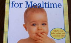 Baby Signs for Mealtime by Linda Acredelo and Susan Goodwyn (Ph.Ds) Early Sign Languange - First Signs at Play   10 OBO