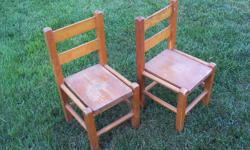 "Measures 20"" high x 9 1/2"" wide Seat height 10"" $15 each , both for $25"
