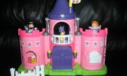 **IF THE AD IS STILL POSTED, IT'S STILL AVAILABLE!!!*** This is a Little People set that includes TWO sets. Asking $35 for both sets and may consider selling separately: The first set is a Little People Lil' Kingdom Castle in pink that would make a great