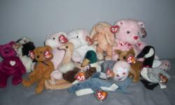 Call evenings ONLY please&Thanks If a collector, or just wanna get a few stuffed animals for your child, all are in great condition, from a smoke-free home. individual sale is accepted, but must contact via email Untagged TY beanie babies: 1999 signature