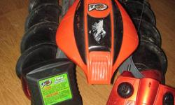 remote control all terrain one orange and one green