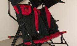 Avalon-Umbrella double stroller great for shopping barely used. asking $100.00 call 705-840-3647