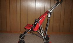Umbrella Stroller is available for sale. Bought last year from Sears. Good condition. Ours is a pet free and smoke free home. If interested, please contact at 370-2621.