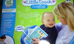 Unopened leap frog baby leap touch. Ages 6-36 months. Retails for $54.44 This ad was posted with the Kijiji Classifieds app.