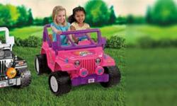 I'm looking for any unwanted or broken POWER WHEELS or PEG PEREGO ride-on vehicles.  Let me know what you have.     Also willing to pay a fair price for items with or without battery/charger!!!