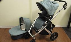 """Approx. Retail Value - Uppababy Vista & Accessories - $850.00. Very lightly used and in """"Like New Condition"""" Used with 1 Child.   COMES COMPLETE WITH:   Standard Toddler Seat Bassinet Attachment Car Seat Adapter (Peg-Perego) Cup Holder   Additional"""