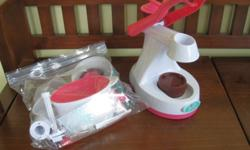 We only used this once and decided that, while it works, it wasn't for us :)  We think it would be great for an older girl who can make cupcakes for herself and a friend without needing parental oversight :)  You can use regular cake mix as well...we