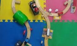 Thomas & Friends brand used train sets for wooden, Take N Play, and Trackmaster engines for sale. We have used train track sets galore at Totally Thomas Town. You can buy used engines for them from us too! We can ship to you! Check out our selection on