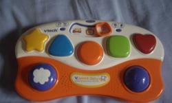 V-Tech V-Smile Baby and 4 Games