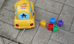 V-Tech Sort and Go Car  (Interactive)