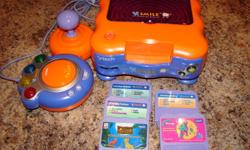 V-Smile with 5 games, excellent condition. $ 40.00