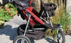 This high quality stroller has worked very well for our family.  In great condition, from a non smoking home.  Originally purchased from Tummies to Tots for over $600 in total.   I will remove this add as soon as it is sold.   Thanks, Becky