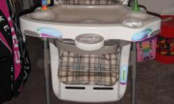 All chairs are in mint clean condition, look new.   Highchairs (2), have multi height adjustments, multi trays, removeable toys, baby food/spoon holders, bib/cloth hangers, multi layback settings. $50 each   Highchairs (2), from Ikea, stackable, legs and