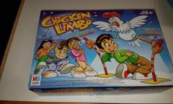 These board games are all in excellent condition. Chicken Limbo-15