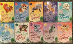We have a number of sets of books all in near new condition that are great for early (established) readers. All were bought new and read once or twice. No torn or wrinkled pages or covers. A few have a 'This book belongs to' written in them. Would like to