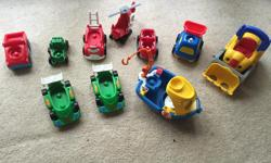 Race cars, fire truck, helicopter, tug boat and more Check out my other listings. Call or text (306)550-4371 I rarely check my emails. Thanks for looking. Stephen