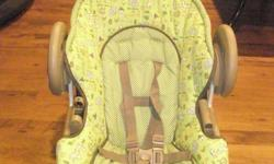 Graco Vibrating Chair for sale.  Like new with 5 point harness and infant head support.  Also has a removable tray and 2 vibration settings.  Item is like new. For sale for $10.  Please email if interested.