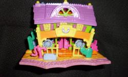 Vintage polly pocket  Saloon very small, lights up just need batteries, no figures   pickup in Ingersoll or can deliver to Woodstock More polly pocket, check out other items